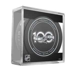 NHL 100th Anniversary Official Game Puck