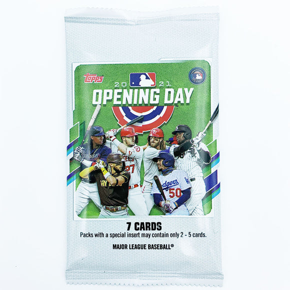 2021 Topps Opening Day Baseball Card Pack