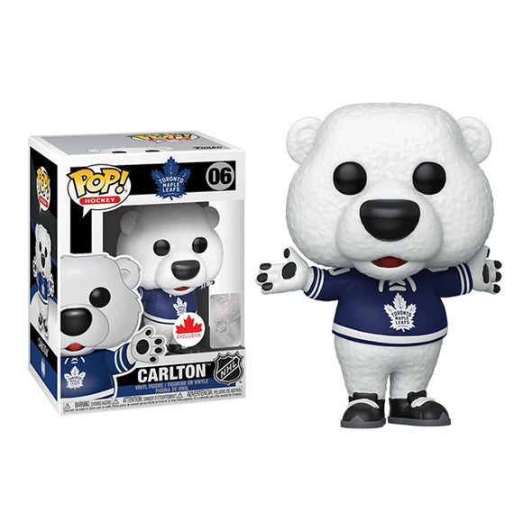 Carlton The Bear Toronto Maple Leafs Funko Pop! Hockey Figure