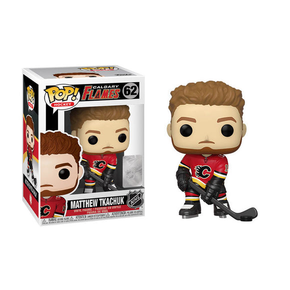 Matthew Tkachuk Calgary Flames Funko Pop! Hockey Figure