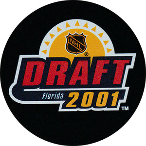 2001 NHL Draft Puck