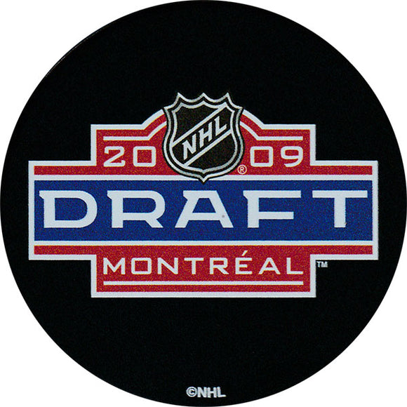 2009 NHL Draft Puck