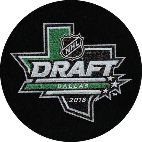 2018 NHL Draft Puck