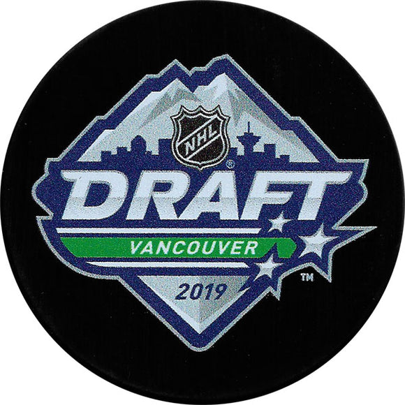 2019 NHL Draft Puck