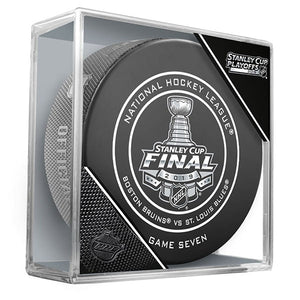 2019 Stanley Cup Finals Game 7 Official Game Puck