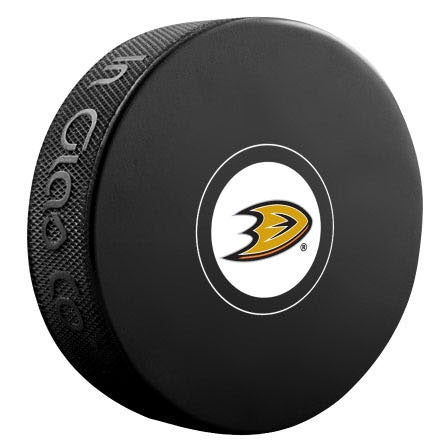 Anaheim Ducks Autograph Model Puck