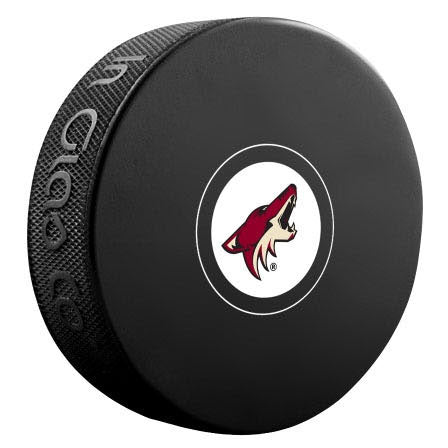 Arizona Coyotes Autograph Model Puck