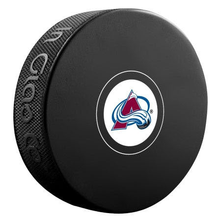 Colorado Avalanche Autograph Model Puck