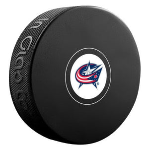 Columbus Blue Jackets Autograph Model Puck