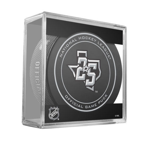 2017-18 Dallas Stars 25th Anniversary Official Game Model Puck
