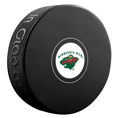 Minnesota Wild Autograph Model Puck