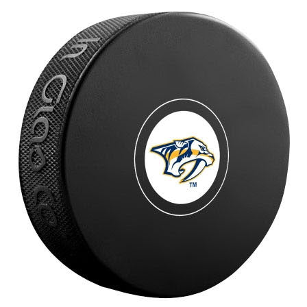 Nashville Predators Autograph Model Puck