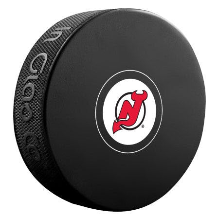 New Jersey Devils Autograph Model Puck