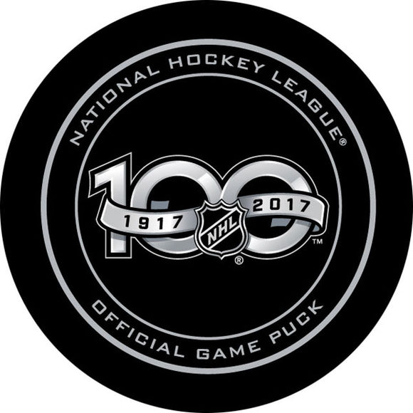 NHL Centennial Official Game Puck