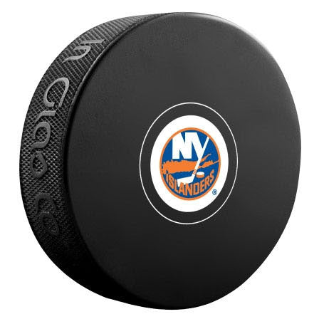 New York Islanders Autograph Model Puck