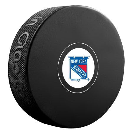 New York Rangers Autograph Model Puck