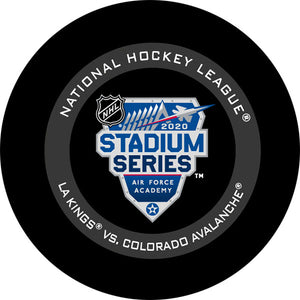 2020 Stadium Series Official Game Puck