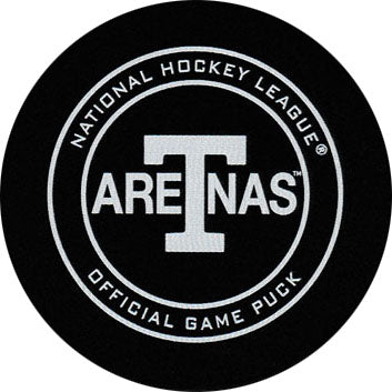 Toronto Arenas Official Game Model Puck