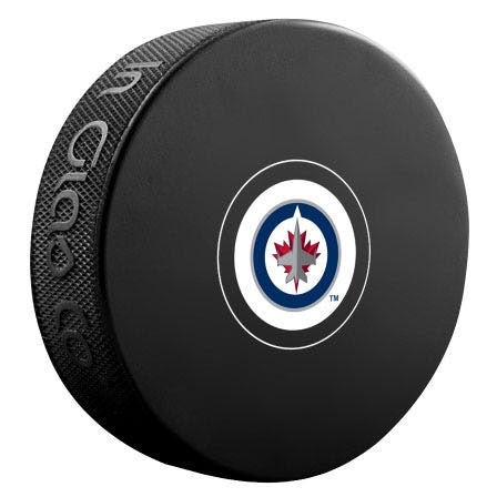 Winnipeg Jets Autograph Model Puck