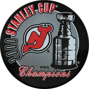 2000 New Jersey Devils Stanley Cup Champions Puck
