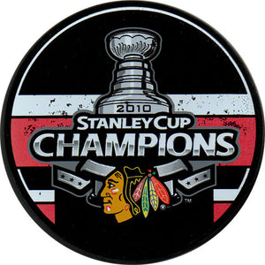 2010 Chicago Blackhawks Stanley Cup Champions Puck