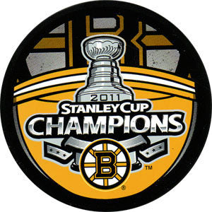 2011 Stanley Cup Boston Bruins Champions Puck