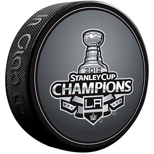2012 Stanley Cup Los Angeles Kings Champions Puck