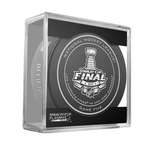 2014 Stanley Cup Finals Game 5 Official Game Puck