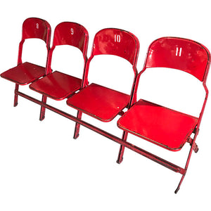Detroit Olympia - Set of 4 Seats
