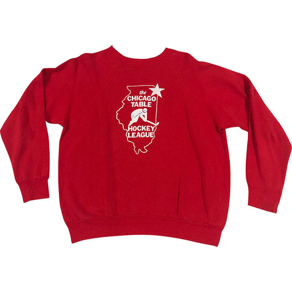 Gordie Howe Autographed Chicago Table Hockey League Sweatshirt