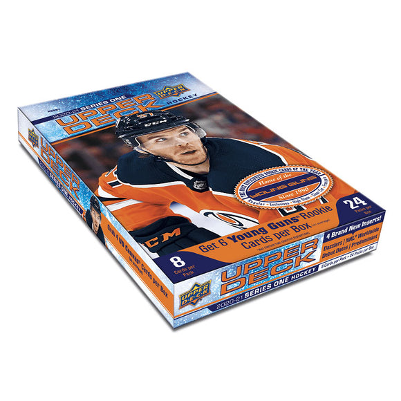 2020-21 Upper Deck Series 1 Hobby Box