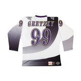 Wayne Gretzky Autographed 1995-96 Los Angeles Kings Authentic Mitchell & Ness Jersey - UDA