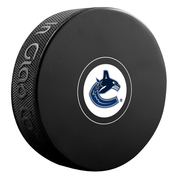 Vancouver Canucks Autograph Model Puck
