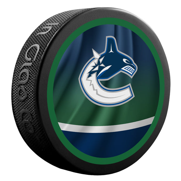 Vancouver Canucks Reverse Retro Jersey Puck