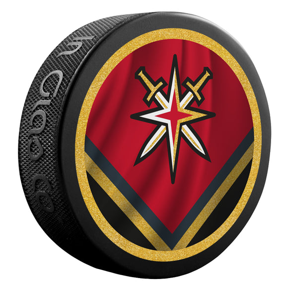 Vegas Golden Knights Reverse Retro Jersey Puck