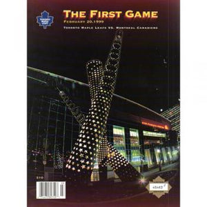 1999 - Air Canada Centre - First Game