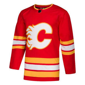 Calgary Flames adidas Authentic Jersey (Alternate)
