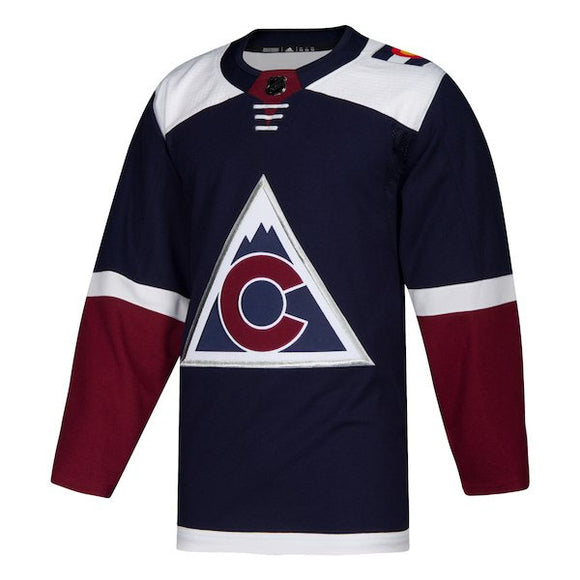 Colorado Avalanche adidas Authentic Jersey (Alternate)