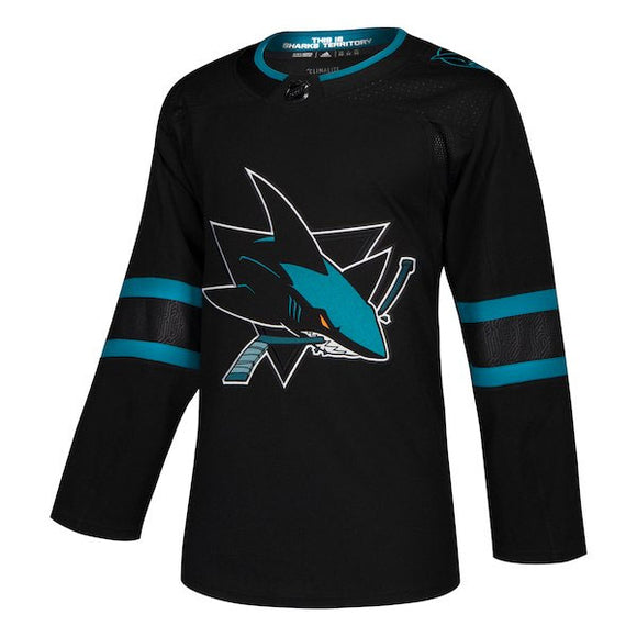 San Jose Sharks adidas Authentic Jersey (Alternate)
