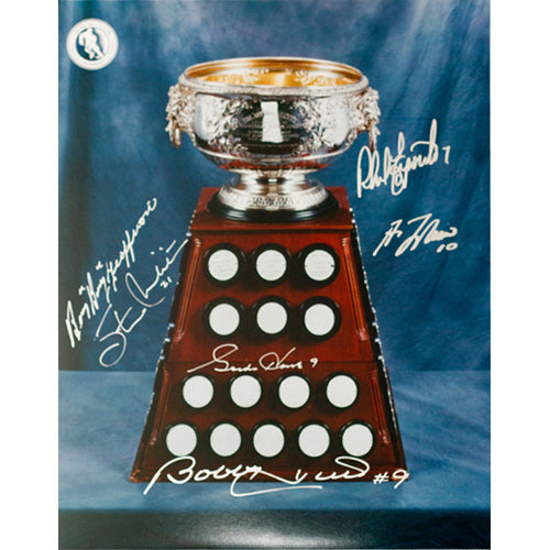 Art Ross Trophy 11X14 Photo (6 signatures)