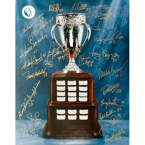 Calder Trophy 11X14 Photo (18 signatures)