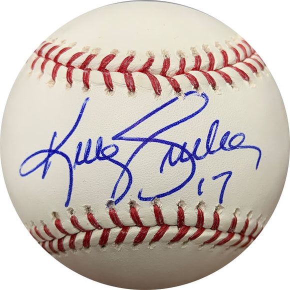 Kelly Gruber Autographed Baseball