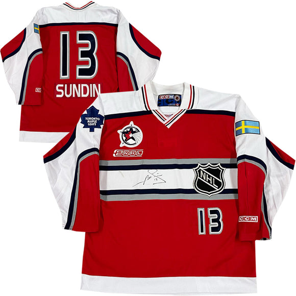 Mats Sundin Autographed 2000 NHL All-Star Game CCM Jersey