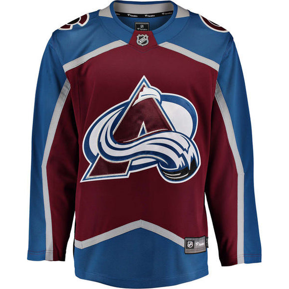 Colorado Avalanche Fanatics Breakaway Jersey (Home)