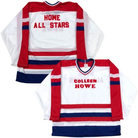 Gordie & Colleen Howe All-Stars Jerseys - Gordie's Autographed