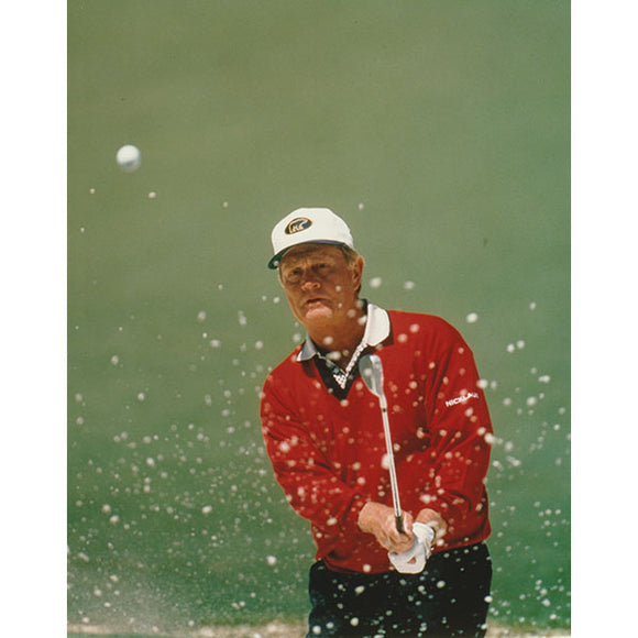Jack Nicklaus Unsigned 8X10 Photo