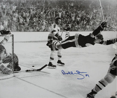 Bobby Orr Autographed Boston Bruins 16X20 Photo