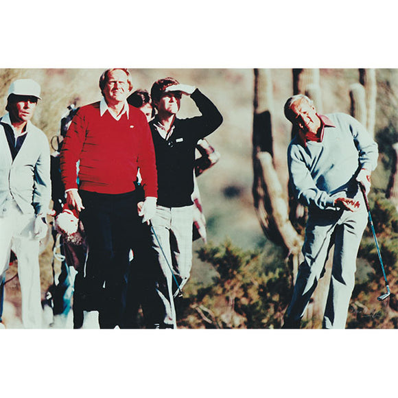 Gary Player/Jack Nicklaus/Tom Watson/Arnold Palmer Unsigned 8X10 Photo