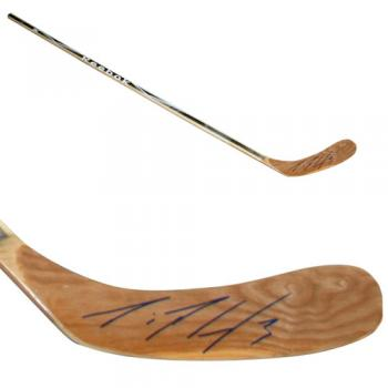 Dion Phaneuf Autographed Stick