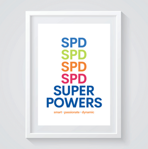 SPD Superpowers Print